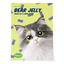 Zzing's Bears Jelly New Patterns Art Poster