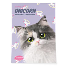 Zzing's Unicorn New Patterns Art Poster