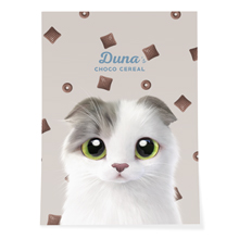 Duna's Choco Cereal Art Poster