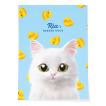 Ria's Rubber Duck Art Poster