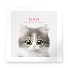 Dan the Kitten Art Print