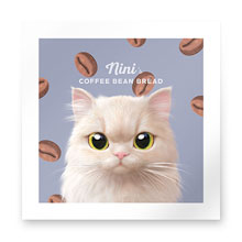 Nini's Coffee Bean Bread Art Print