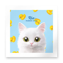 Ria's Rubber Duck Art Print
