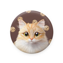 Nova's Chocochip Mirror Button