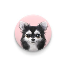 Cola the Chihuahua Pin Button 44mm