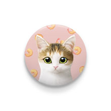 Dari's Fried Shrimp Pin Button