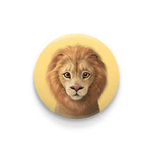 Lager the Lion Pin Button