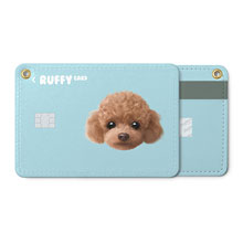 Ruffy the Poodle Face Card Holder
