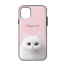 Cloud the Persian Cat Simple Door Bumper Case