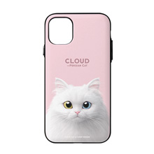 Cloud the Persian Cat Door Bumper Case