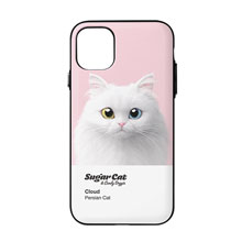 Cloud the Persian Cat Colorchip Door Bumper Case