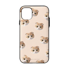 Mumu Face Patterns Door Bumper Case