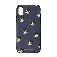 Tuxedo Face Patterns Door Bumper Case