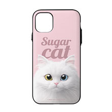 Cloud the Persian Cat Magazine Door Bumper Case