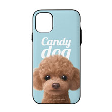 Ruffy the Poodle Magazine Door Bumper Case