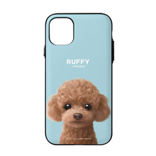 Ruffy the Poodle Door Bumper Case