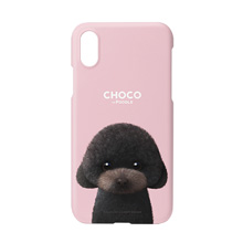 Choco the Black Poodle Case