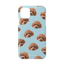 Ruffy the Poodle Face Patterns Case