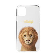 Lager the Lion Simple Clear Jelly Case
