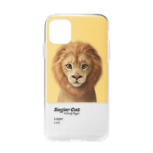 Lager the Lion Colorchip Clear Jelly Case