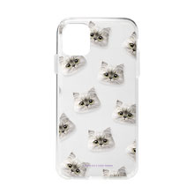 Choigoya Face Patterns Clear Jelly Case