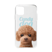 Ruffy the Poodle Magazine Clear Jelly Case