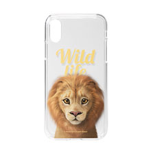 Lager the Lion Magazine Clear Jelly Case