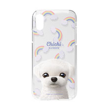 Chichi's Rainbow Clear Jelly Case
