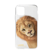 Lager the Lion Peekaboo Clear Jelly Case
