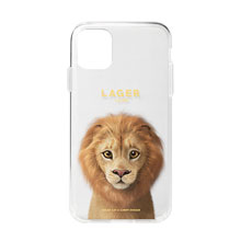 Lager the Lion Clear Jelly Case