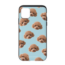 Ruffy the Poodle Face Patterns Slide Case