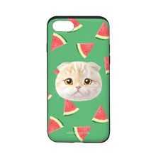 Achi's Watermelon Face Slide Case