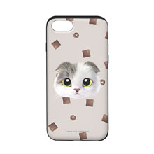 Duna's Choco Cereal Face Slide Case