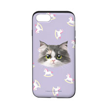 Zzing's Unicorn Face Slide Case