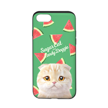 Achi's Watermelon Script Logo Slide Case
