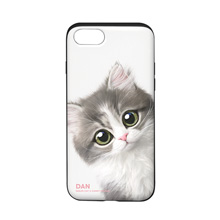 Dan the Kitten Peekaboo Slide Case