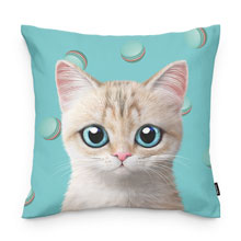 Dione's Macaroon Throw Pillow
