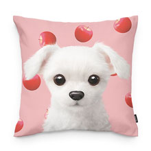 Dongdong's Apple Throw Pillow