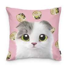 Duna's Tuna Can Throw Pillow
