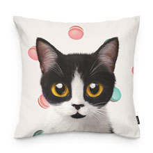 Jelly's Macaroon Throw Pillow