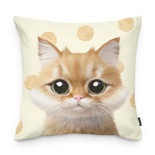 Kkukku's Cookies Throw Pillow