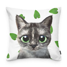 Najung's Catnip Throw Pillow