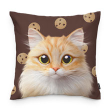 Nova's Chocochip Throw Pillow