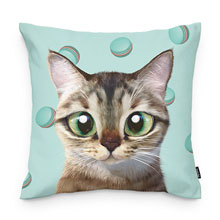Rini's Macaroon Throw Pillow