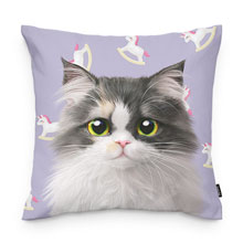 Zzing's Unicorn Throw Pillow