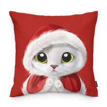 Santa Duna Throw Pillow