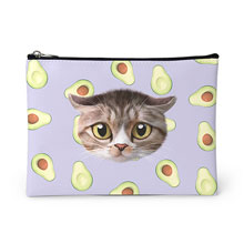 Ohsiong's Avocado Face Leather Pouch