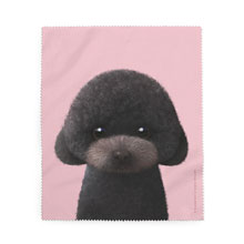 Choco the Black Poodle Cleaner