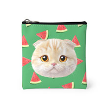 Achi's Watermelon Face Mini Pouch