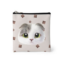 Duna's Choco Cereal Face Mini Pouch